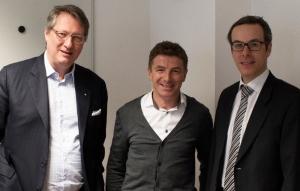 Neue Certified Business Angels (v.l.): Nikolaus Futter, Kurt Kofler und Clemens Theuermann-Bernhardt.