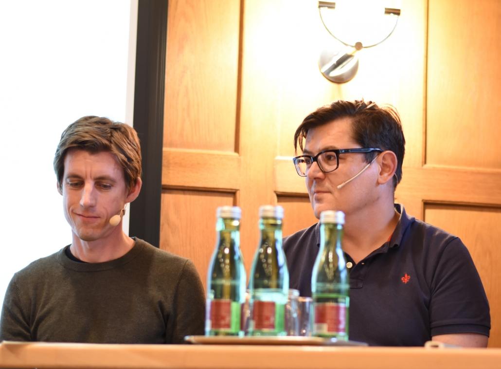 v.l.: Max Tertinegg und Hannes Stiebitzhofer.